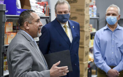 Opportunity House and Habitat Berks Unveil Renovated Food Pantry